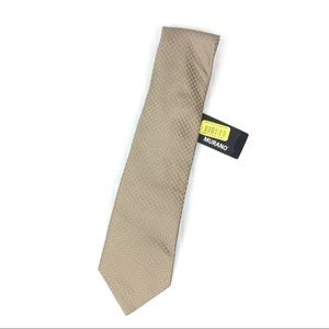 Murano Silk Tie 260 Taupe New With Tags